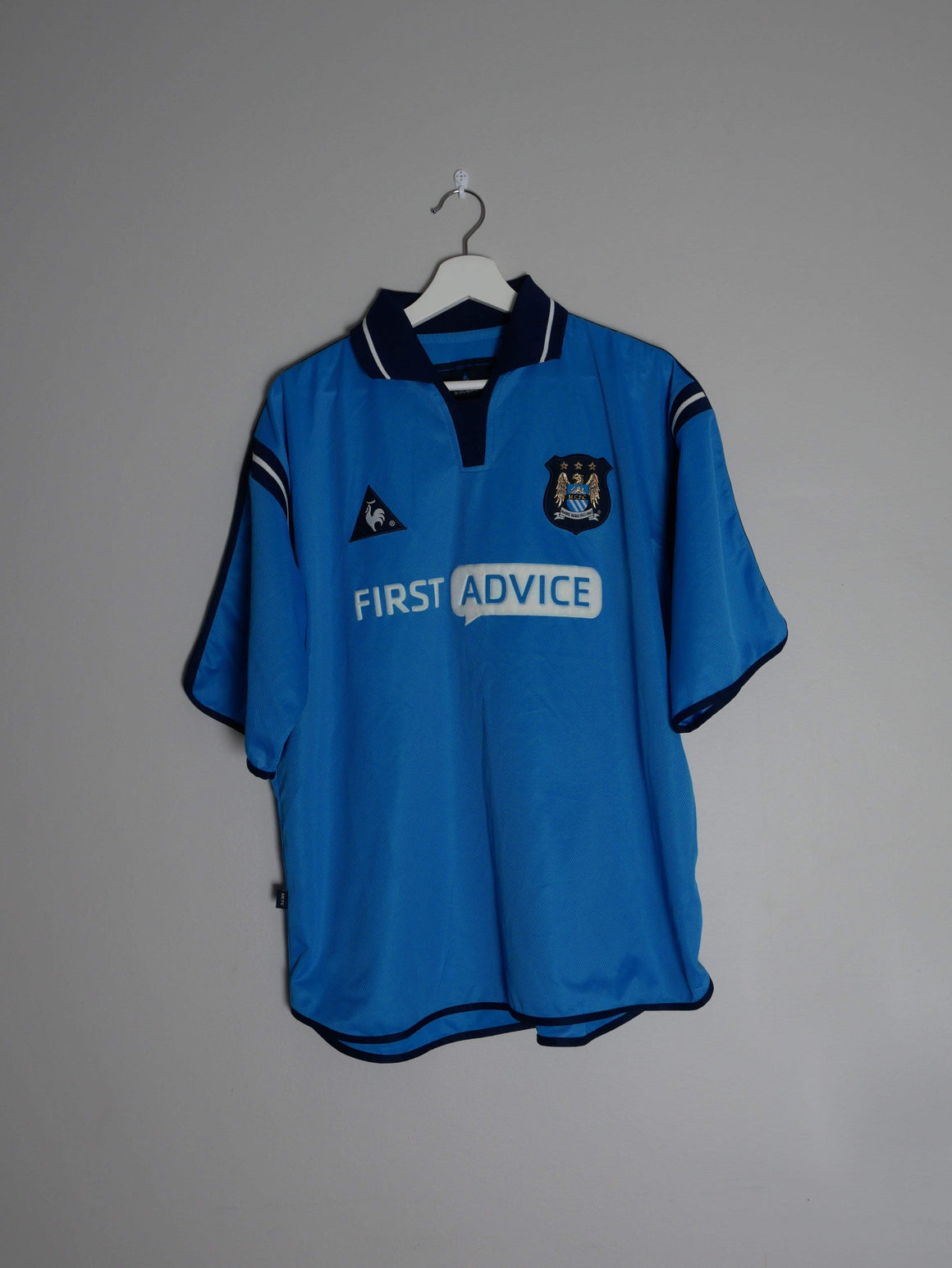 Football Shirt Collective 2002-03 Manchester City Home Shirt L (Excellent)
