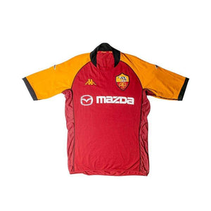 Football Shirt Collective 2002-03 Roma Home Shirt (Very Good) M