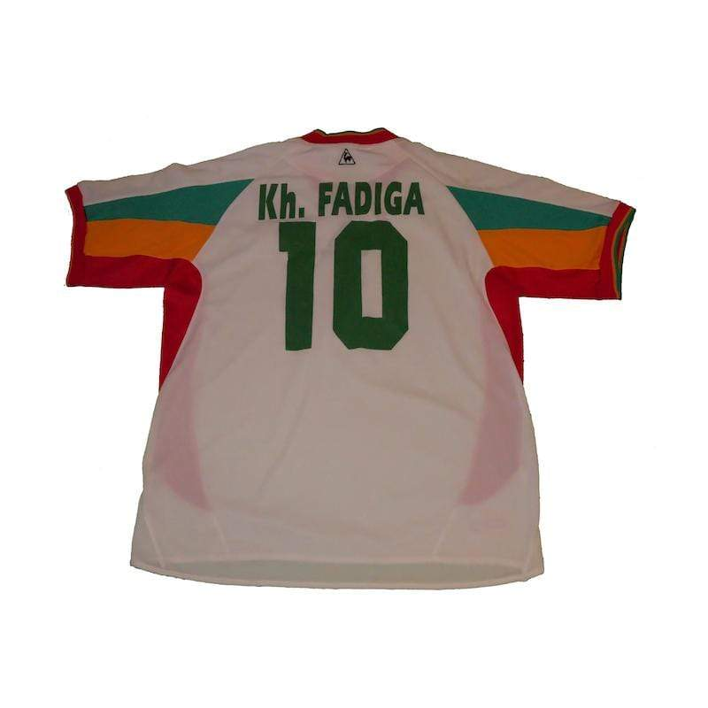 Football Shirt Collective 2002-04 Senegal shirt L Fadiga 10 (Excellent)