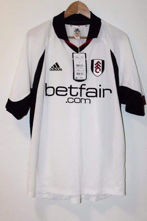 2002-2003 Fulham Home Shirt Adidas BNWT Large - Football Shirt Collective