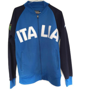 2002 Italy Kappa Presentation Tracksuit Jacket M - Football Shirt Collective