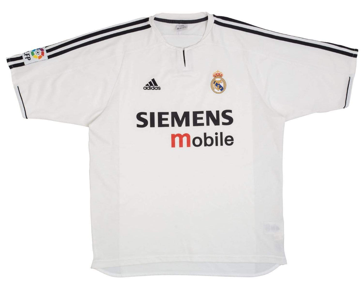 2003-04 Real Madrid home football shirt L (Excellent) - Football Shirt Collective