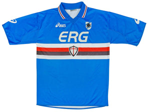 2003-04 Sampdoria shirt XL Excellent - Football Shirt Collective