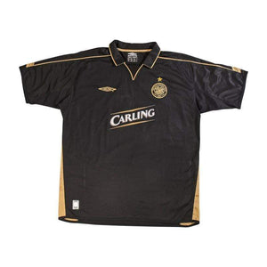 Football Shirt Collective 2003-05 Celtic Away Shirt Larsson 7 (Excellent) XL