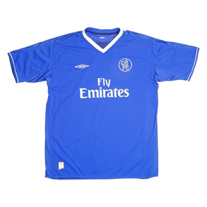 2003-05 Chelsea Home Football Shirt XL Excellent - Football Shirt Collective