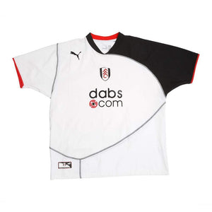 2004-05 Fulham '125 Years' Home Shirt XL Excellent - Football Shirt Collective