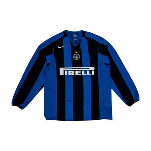 Football Shirt Collective 2004-05 Inter Milan home shirt LS L Excellent