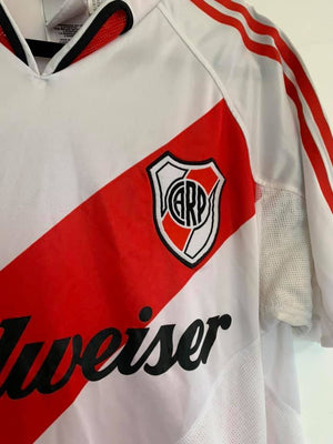 2004-2005 River Plate Home Shirt M (Excellent) - Football Shirt Collective