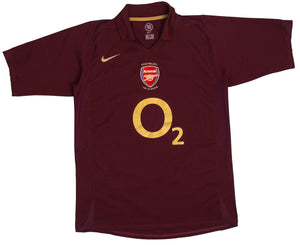 2005-06 Arsenal Home Shirt (Excellent) S - Football Shirt Collective