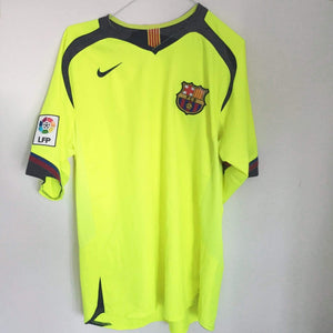 Football Shirt Collective 2005-06 Barcelona Away Shirt (Excellent) L