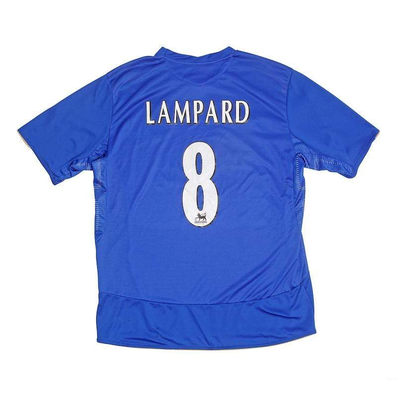 2005-06 Chelsea Centenary Home Shirt (Excellent) Lampard 8 XL - Football Shirt Collective