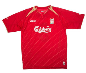 2005-06 Liverpool CL Home shirt L (Excellent) - Football Shirt Collective