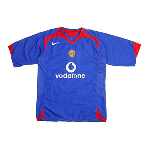 2005-06 Manchester United Away Shirt XL Excellent - Football Shirt Collective