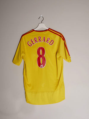 Football Shirt Collective 2006-07 Liverpool Away shirt M Gerrard 8 (Excellent)