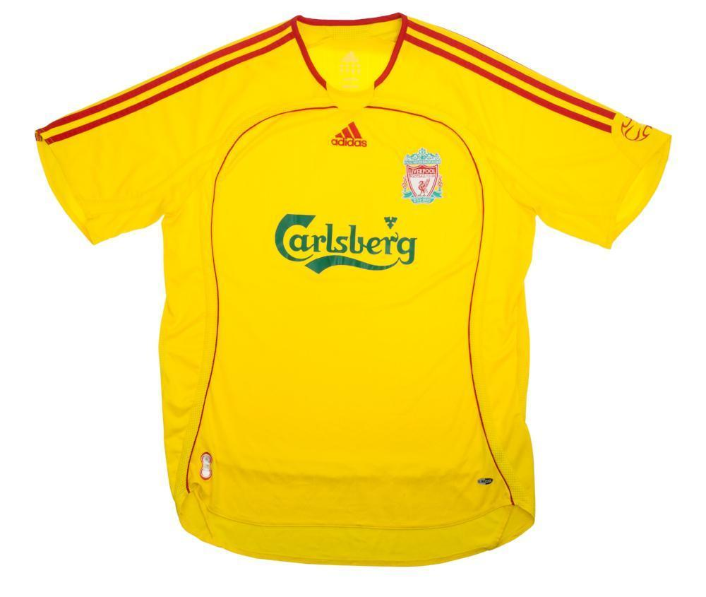 2006-07 Liverpool Away shirt XL (Excellent) - Football Shirt Collective