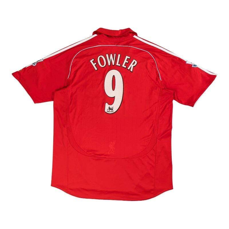 Football Shirt Collective 2006-07 Liverpool Home shirt XL Fowler 9 (Excellent)