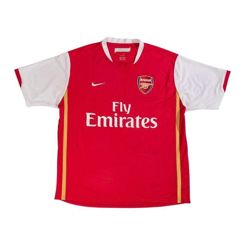 Football Shirt Collective 2006-08 Arsenal Home Shirt L Excellent
