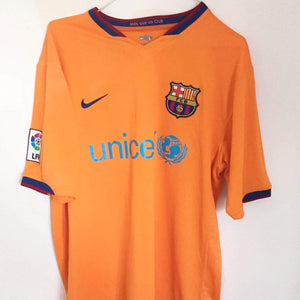 2006-08 Barcelona Away Shirt L  Very good - Football Shirt Collective