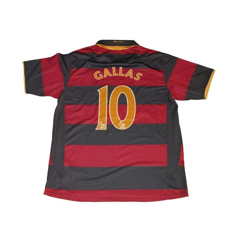 Football Shirt Collective 2007-08 Arsenal third Shirt Gallas 10 (Excellent) L