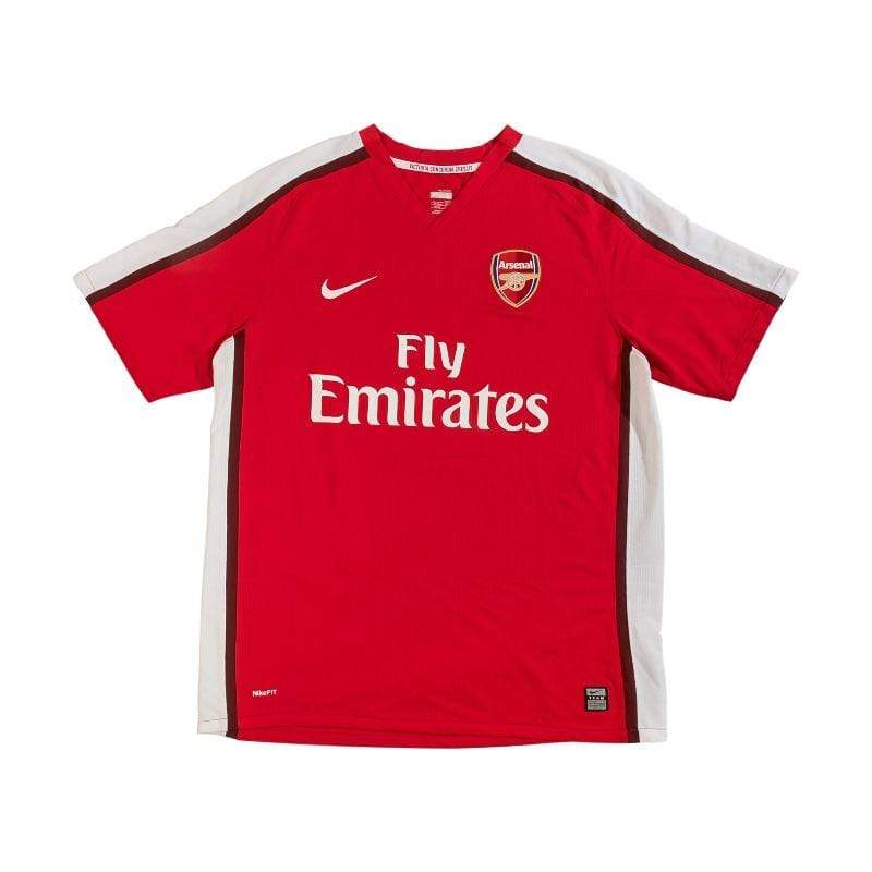 Football Shirt Collective 2008-10 Arsenal Home Shirt L Excellent