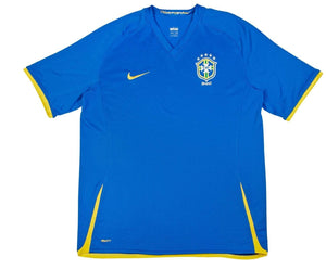2008-10 Brazil Away Shirt (Excellent) XL - Football Shirt Collective