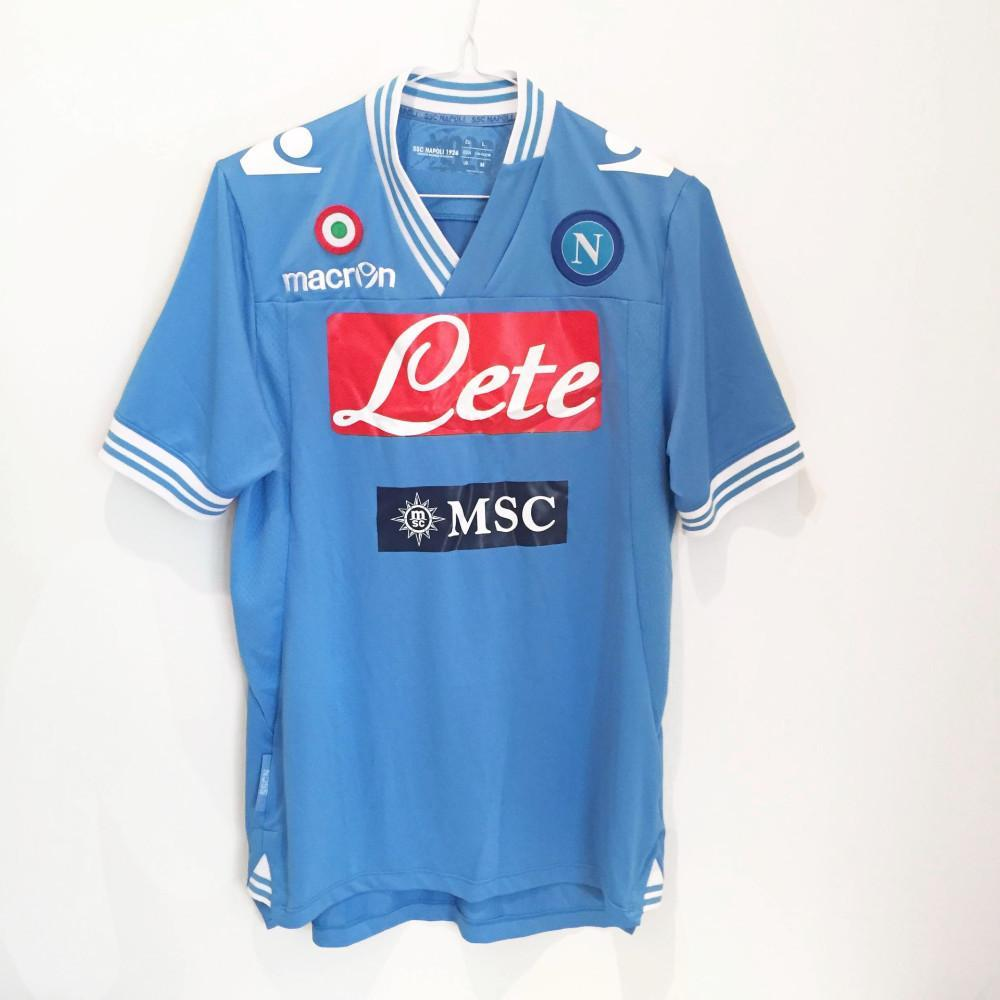 2013-14 Napoli home shirt L - Football Shirt Collective