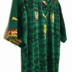 2014 Cameroon football shirt L 9 Etoo - Football Shirt Collective