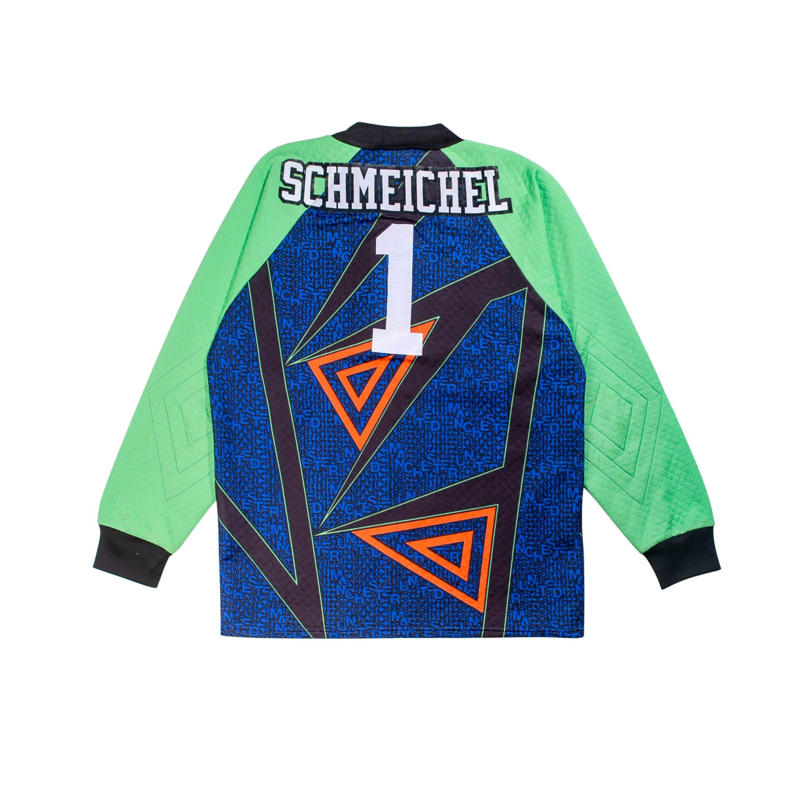 Football Shirt Collective 1994-95 Manchester United Goalie Football Shirt Schmeichel M (Excellent)