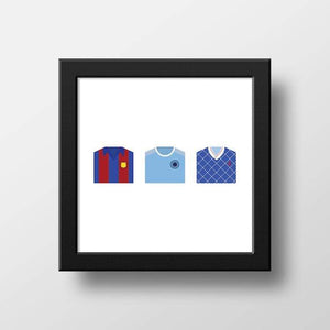 Bespoke football shirt print - Football Shirt Collective