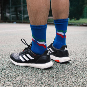 Azzurri socks - Football Shirt Collective