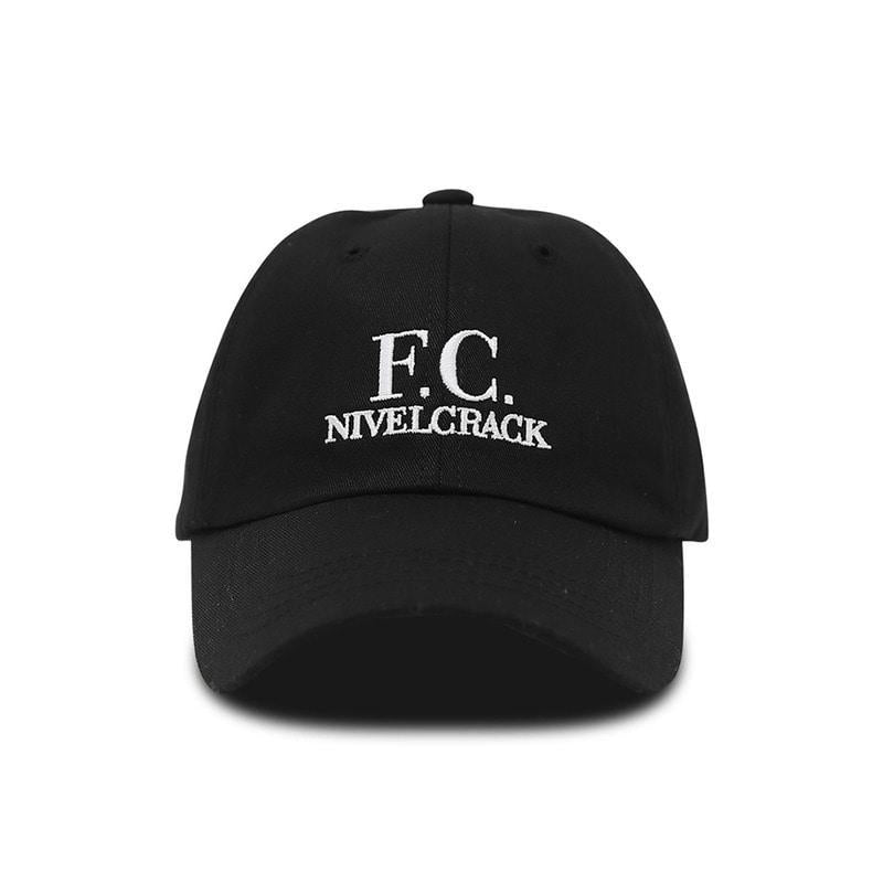FC Cap Black - Football Shirt Collective