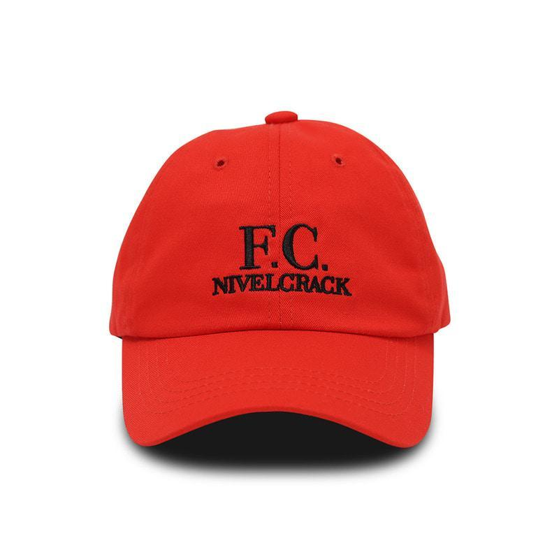 FC Cap Red - Football Shirt Collective