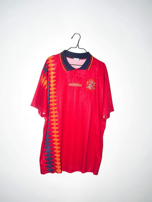 RB Jerseys 1994 1996 Spain home shirt - L