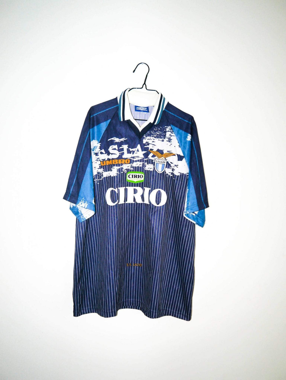 1996 1998 Lazio Roma away shirt - XL - Football Shirt Collective