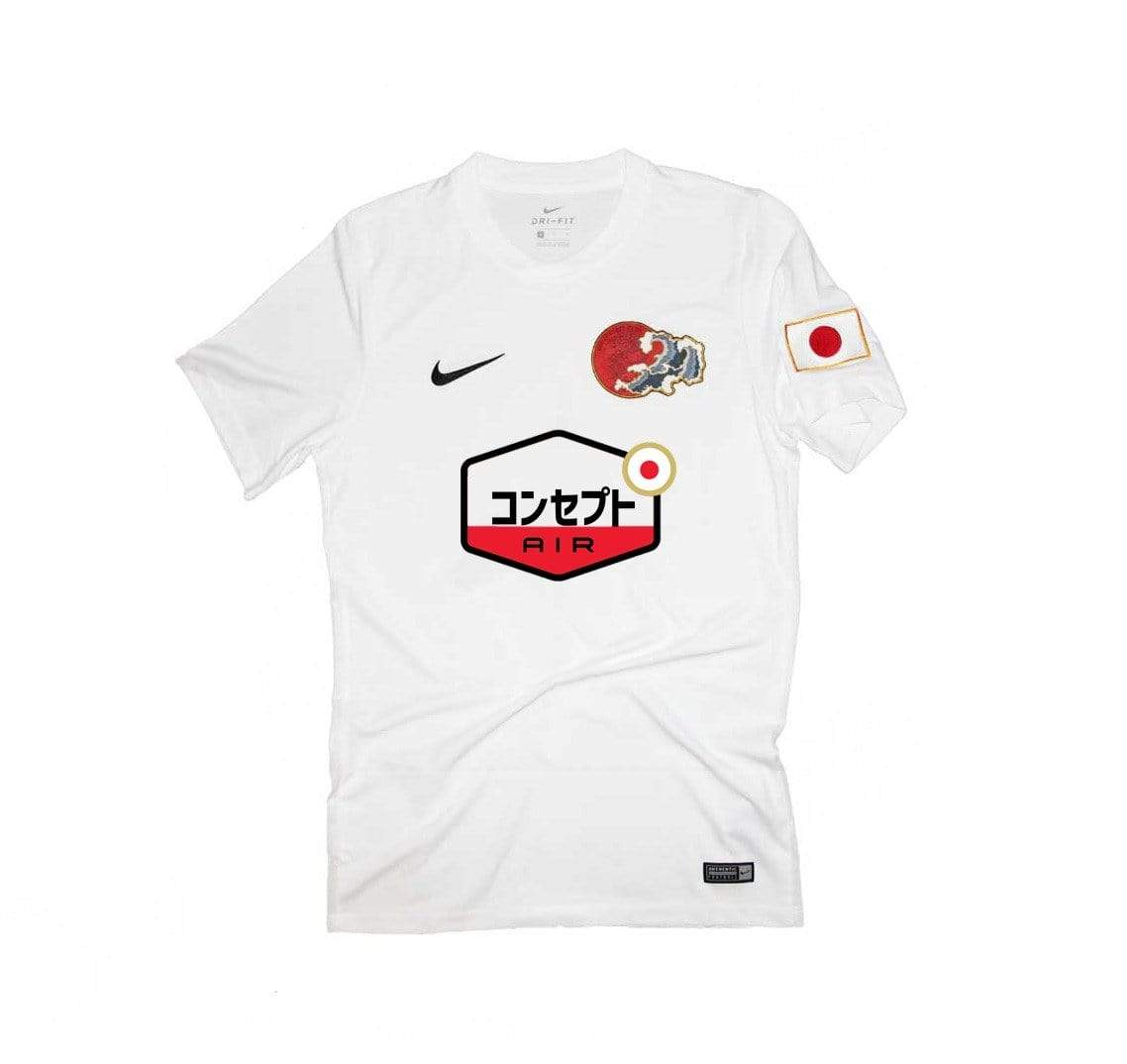 Nami TN White Concept Jersey - Football Shirt Collective