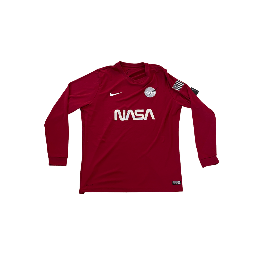 TheConceptClub Nasa Red Planet Jersey long sleeve (Red)