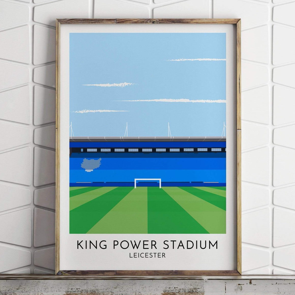 Leicester City - King Power Stadium -  Contemporary Stadium Print
