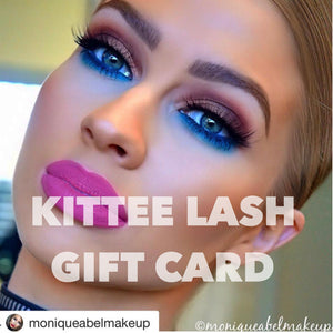 KITTEE LASH GIFT CARD