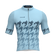 M's Blue Houndstooth Pro Air Jersey