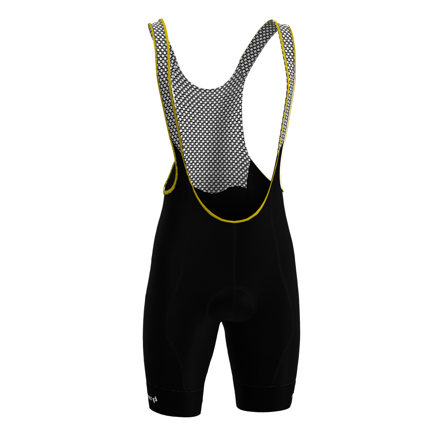 M's All-Black Pro Bib Short