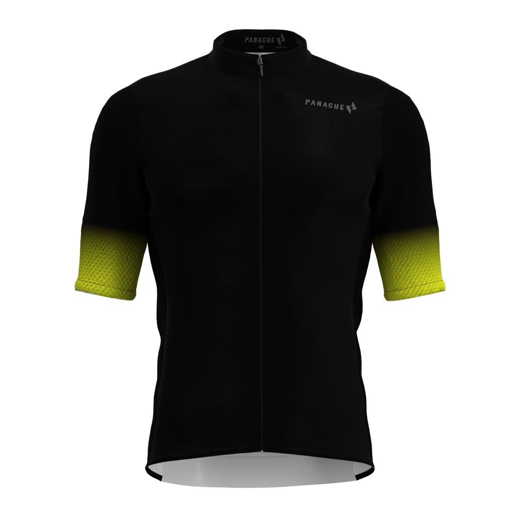 Black Fade Pro Air Jersey Mens Ss