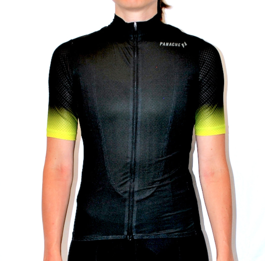 Black Fade Pro Air Jersey - W Womens Ss