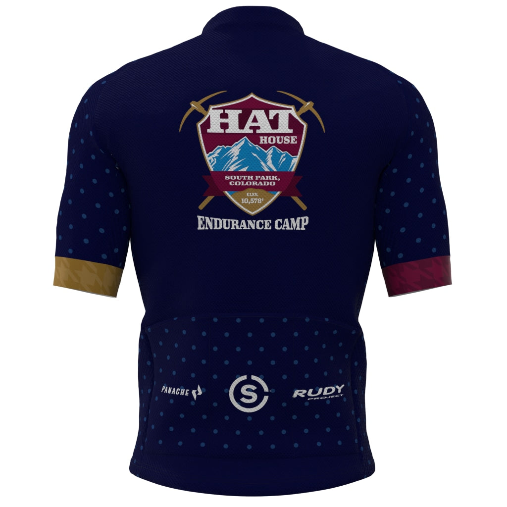 Hat House - Mens Panache Pro Jersey Blue Short Sleeve Men