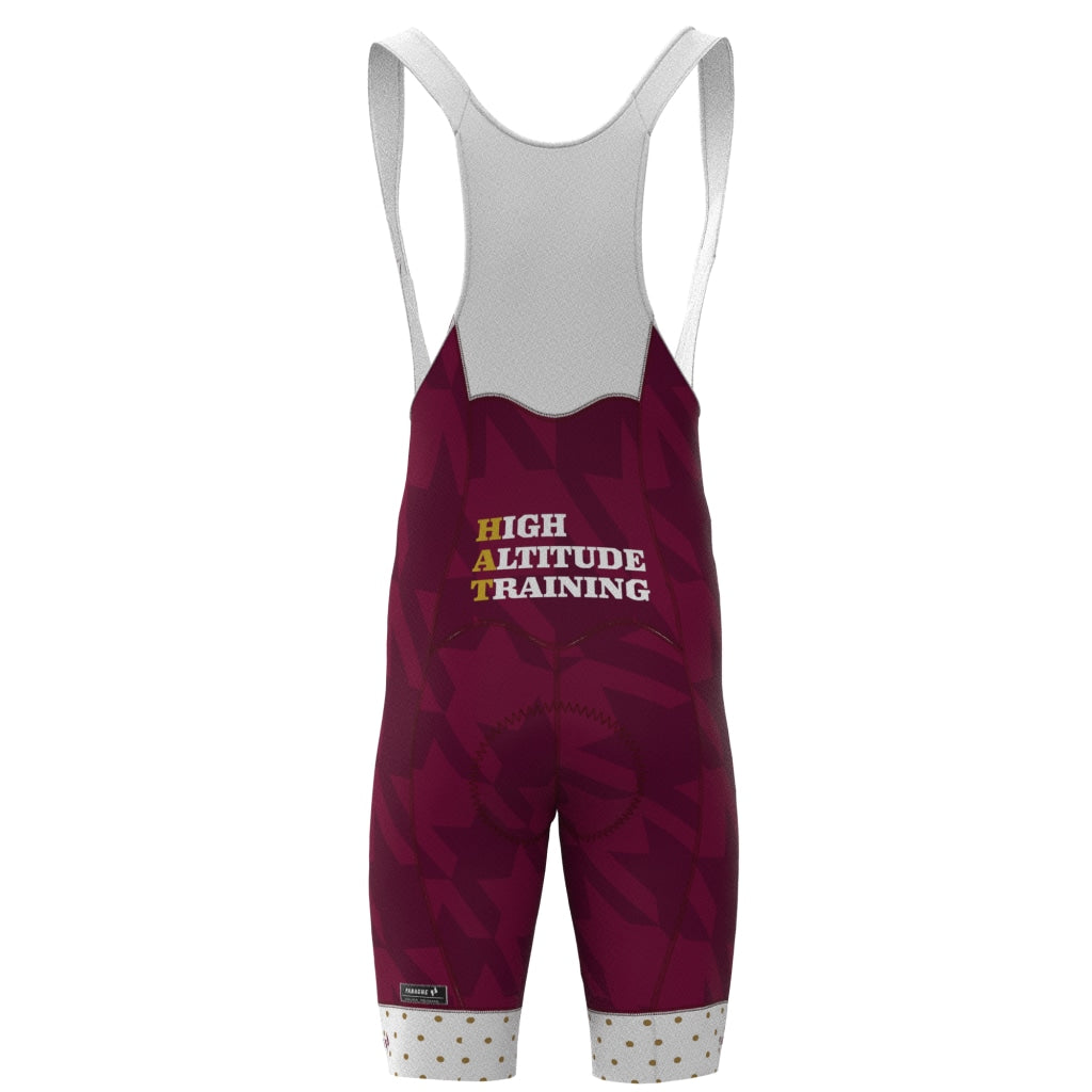 Hat House - Mens Pro Bib Short Maroon Pro Bib Short Men