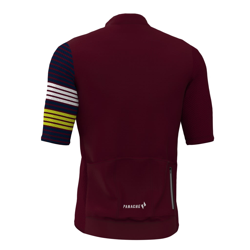Maroon Pro Air Jersey Mens Ss