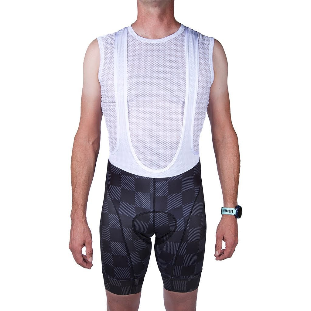 Mens Checkmate Bullet Bib Short M