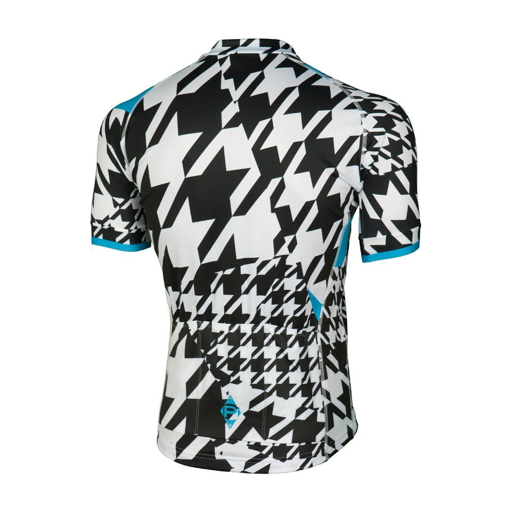Mens Rs-1 Houndstooth Short Sleeve Jersey Xs Ss M