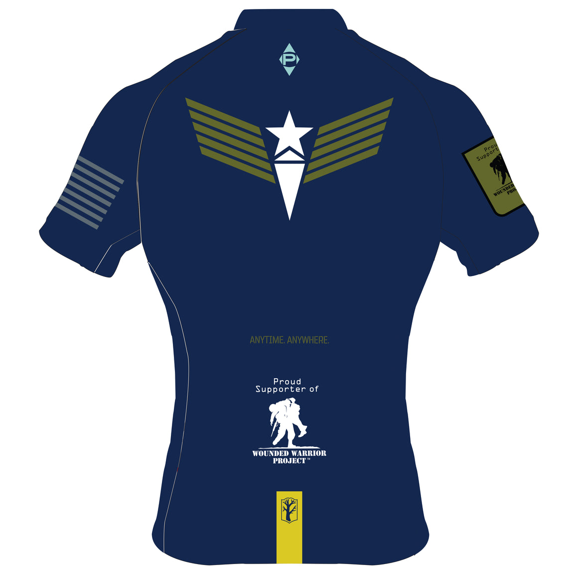 Wounded Warrior Short Sleeve Jersey  (M/W) PRE ORDER