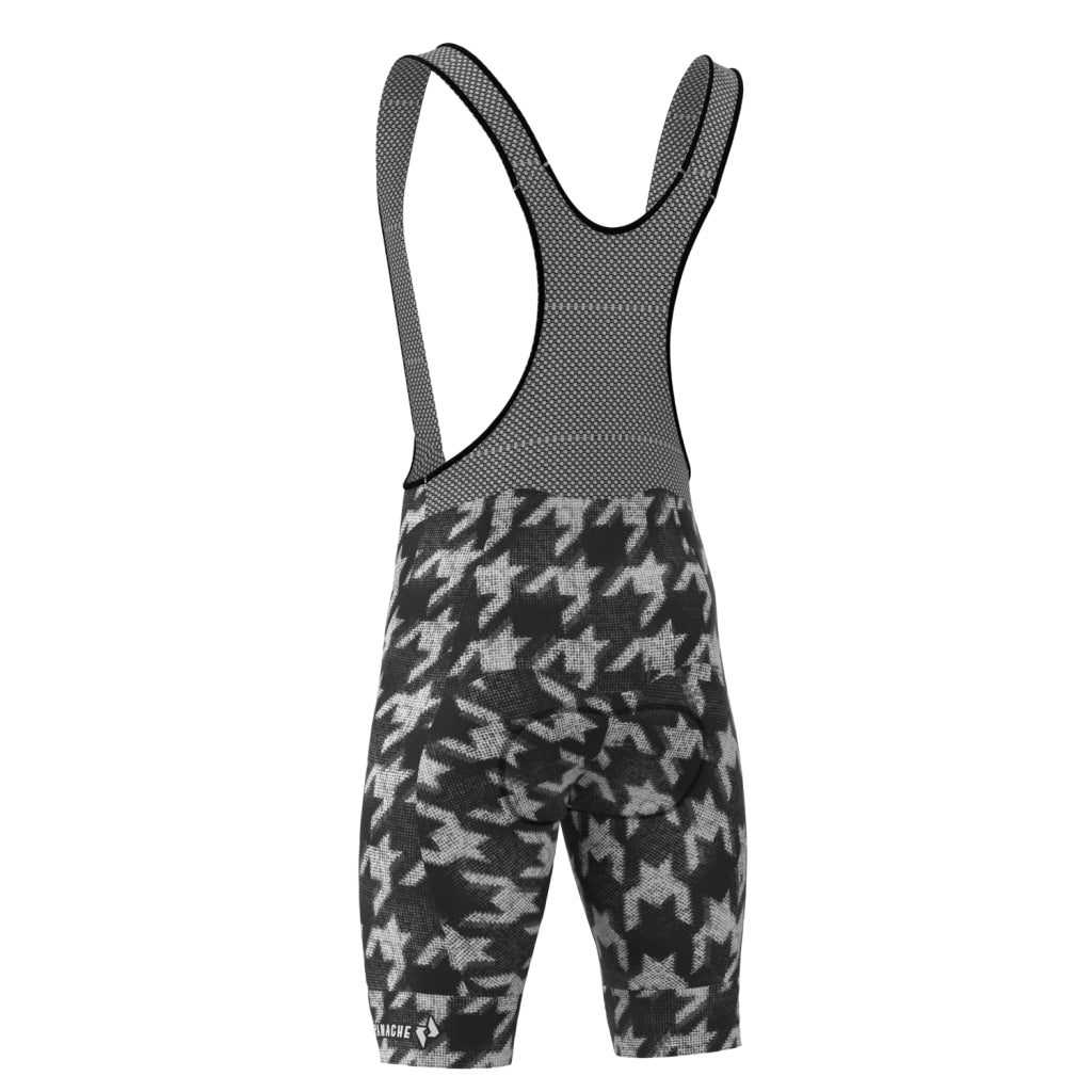 Ms Houndstooth Pro Bib Short Mens