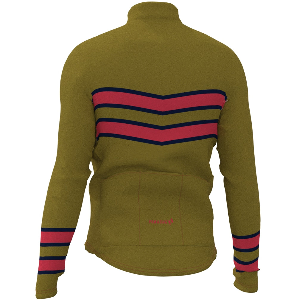 Olive - Thermal Long Sleeve Jersey Long Weight